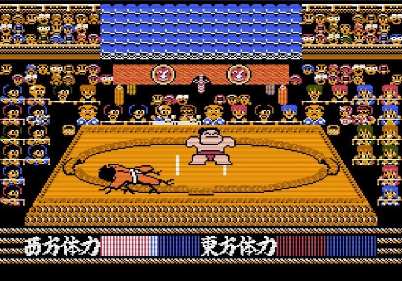 """""""もろだし""""の衝撃、ファミコン『つっぱり大相撲』で格ゲーばりの駆け引きを知った記憶の画像006"""