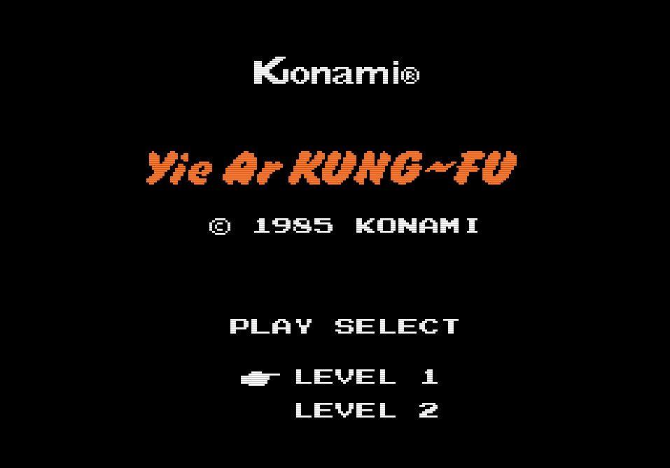 『イー・アル・カンフー』から35年…コナミ初のファミコンソフトは対戦格闘ゲーム!の画像001