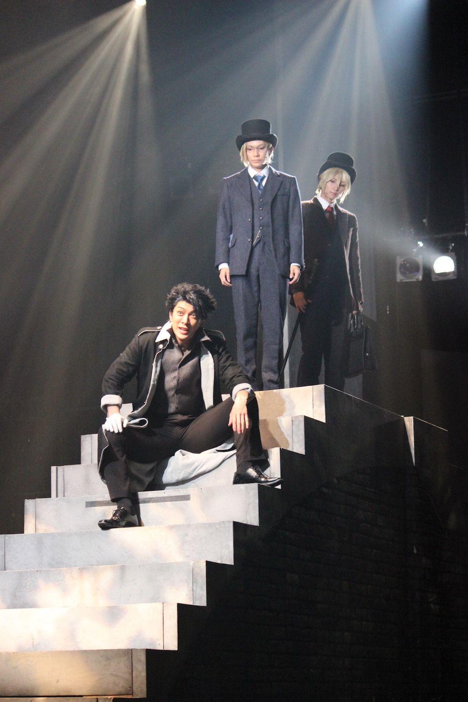 舞台『憂国のモリアーティ』開幕、荒牧慶彦「視覚的にも内容的にもハラハラする作品」とアピールの画像006