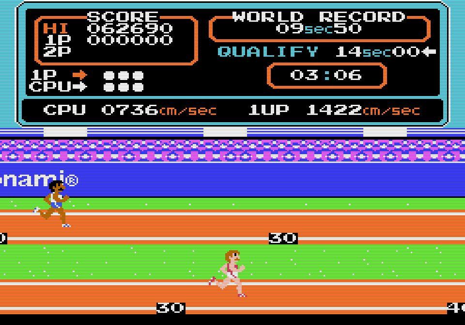 カプセルや定規は必須!?「連射力がモノをいう」ファミコン版『ハイパーオリンピック』との死闘の画像002