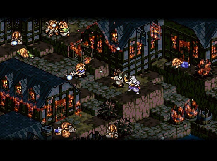芸術的「ドット絵」の衝撃! スーパーファミコン版『タクティクスオウガ』をベストに挙げたい理由の画像002
