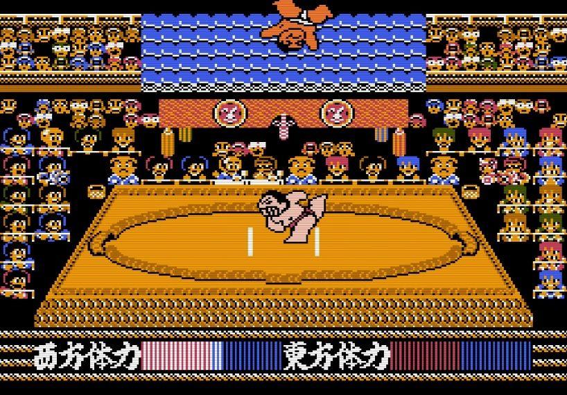 """""""もろだし""""の衝撃、ファミコン『つっぱり大相撲』で格ゲーばりの駆け引きを知った記憶の画像005"""