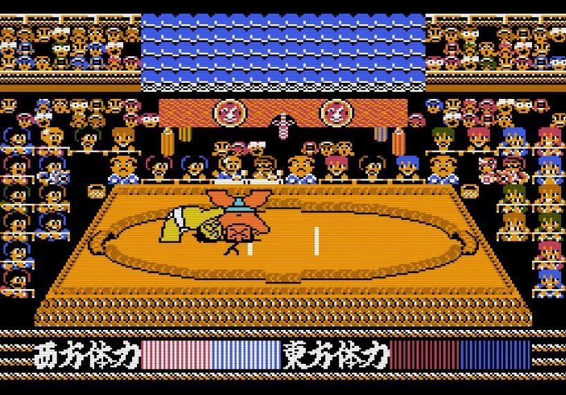 """""""もろだし""""の衝撃、ファミコン『つっぱり大相撲』で格ゲーばりの駆け引きを知った記憶の画像012"""