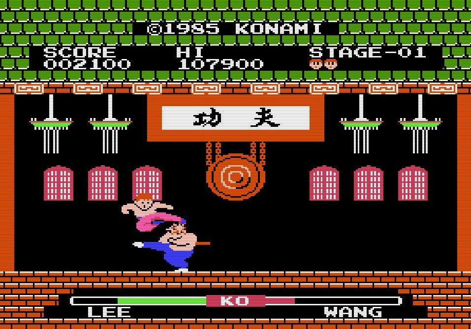 『イー・アル・カンフー』から35年…コナミ初のファミコンソフトは対戦格闘ゲーム!の画像004