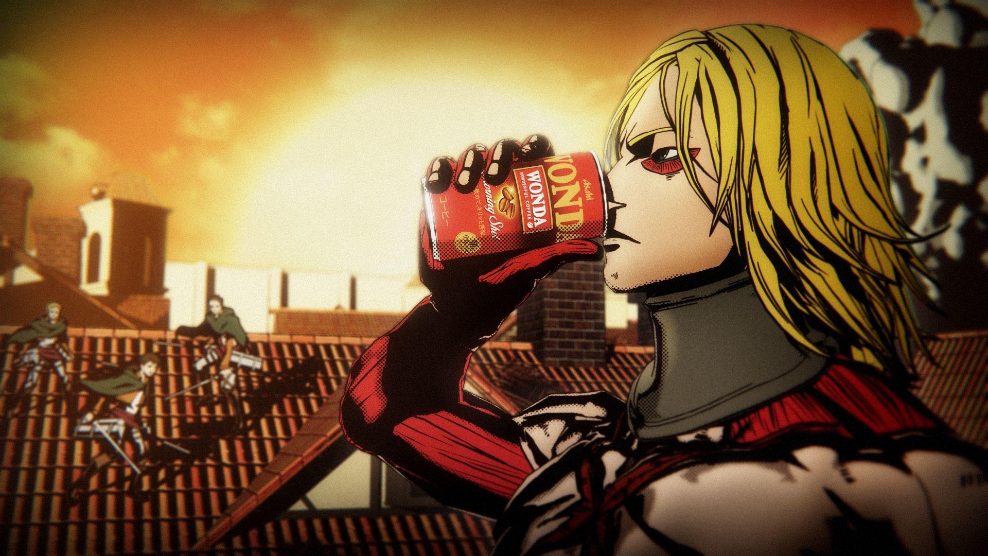 YOSHIKIの『進撃の巨人』ワンダ新CMで思い出す「バカボン出演」の不思議の画像001