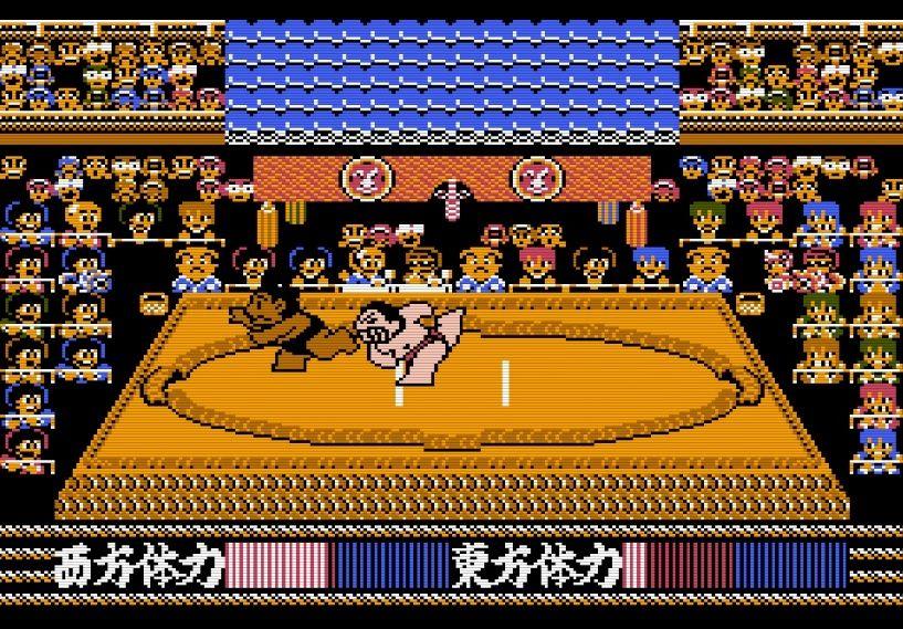 """""""もろだし""""の衝撃、ファミコン『つっぱり大相撲』で格ゲーばりの駆け引きを知った記憶の画像004"""